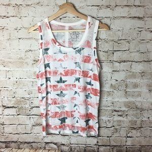Chaser patriotic tank top, small